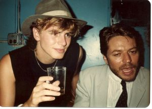 John Taylor meets Robert Palmer on July 2, 1982 at the Peppermint Lounge