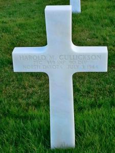 Harold M. Gullickson, PFC - ND Hero