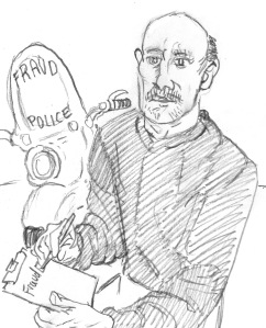 Craig writes Gaiman a ticket